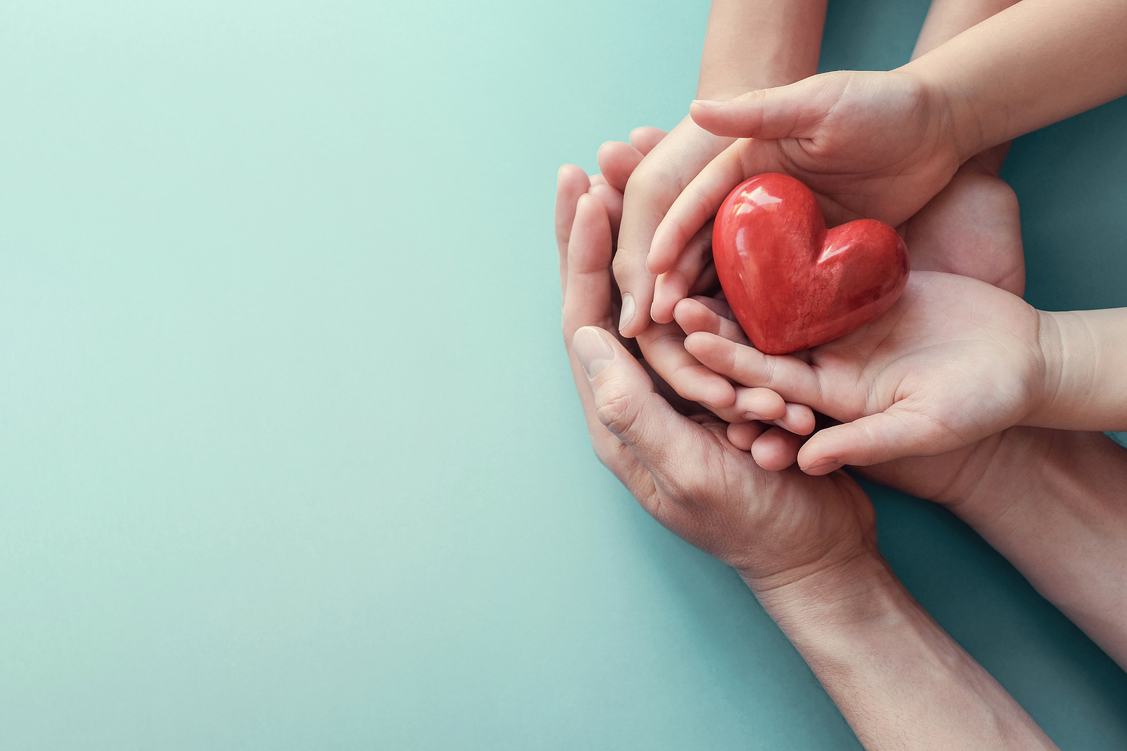 An image of 3 sets of hands cradling a heart for Therapyology. Contact a parenting therapist in West Bloomfield, MI for support today. Parent therapy in West Bloomfield, MI, parent therapy in San Fransisco, CA and parent support groups in West Bloomfield, MI can offer support today!